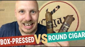 Box Pressed VS Round Cigar Review (ft. Medulla Oblongata)